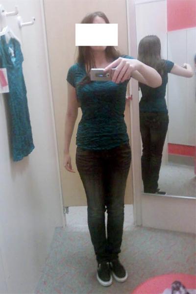 Photographic Height/Weight Chart - 5' 5