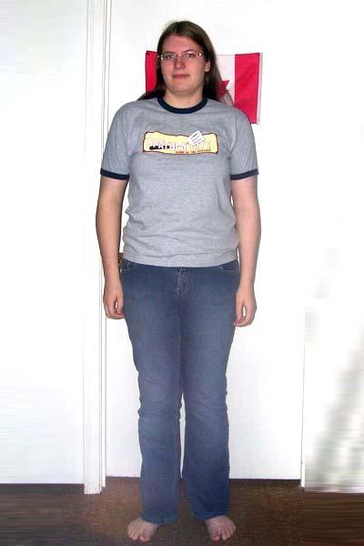 Photographic Height/Weight Chart - 5' 10